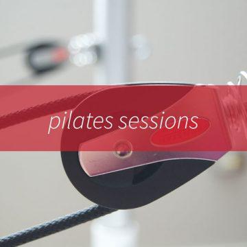 Pilates sessions
